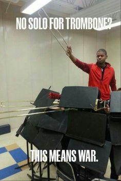 No solo for trombone?