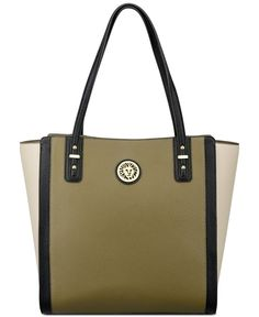 Anne Klein Front Runner Pebble Tote