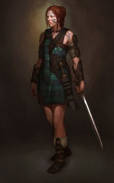 """It is plausible to conclude that, prior to 700, the Picts allowed and/or required women to fight.""  Paul Wagner, Pictish warrior, AD 297-841There were, no doubt, many desperate occasions when individual Pictish women took up arms to defend their homes and families against marauders. From here it is a big leap to imagine formal recruitment of weapon-bearing females into the warband of a Pictish king."