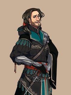 Ezio Auditore (Assassin's Creed) by yeahyeahyeaaah
