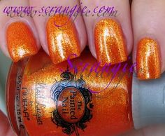 Scrangie never disappoints with her swatches! This is Citrus Sparkle!