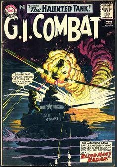 G.I. Combat #104, 1964, art by Russ Heath