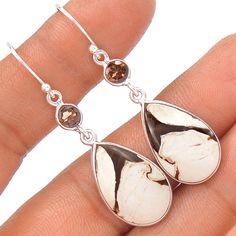 Peanut Wood 925 Sterling Silver Earring Jewelry EE655