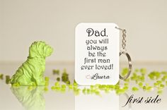 Gift for dad-Keychain for dad-Dad keychain-Dad gift-Best dad ever-Birthday for dad-Gift ideas for dad-Father's Day gift-Present for dad