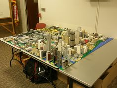 Brickville at Capitol Library by Luap31 on Flickr