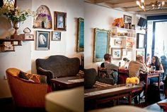 Cafe Puaa, a great Mediterranean restaurant in Jaffa Flea Market by Sivan Askayo Tel Aviv, Retro Apartment, Office Essentials, Next Door, Test Kitchen, Gallery Wall, Interior, Places, Israel Travel
