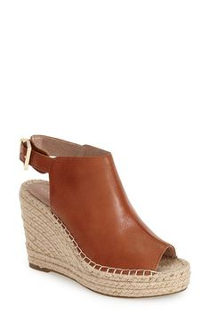 Kenneth Cole New York 'Olivia' Espadrille Wedge Sandal (Women) available at #Nordstrom