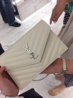 Ysl Saint Laurent Nude Powder Wallet On Chain Woc Bag And