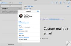 [How To] Check IMAP Or POP Account Mails On iPad, Windows Phone