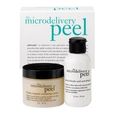 philosophy the microdelivery peel kit #beautybrands #skincare