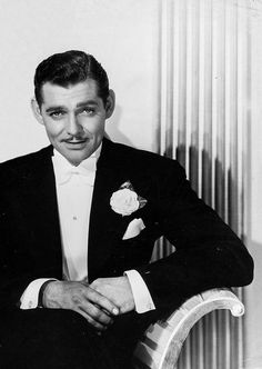 "Clark Gable in ""Forsaking All Others"", 1934."
