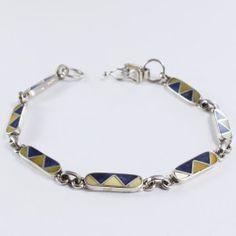 LADRILLOS Personalized Items, Silver, Jewelry, Handmade Silver Jewelry, Seashells, Bricks, Silver Bracelets, Bracelet, Xmas