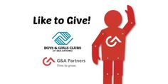 This month we're helping to support the Boys & Girls Clubs of San Antonio. Our client, G&A Partners will donate $1 for each new Facebook fan their pages receive. Each person has the opportunity to donate $2 with just two clicks. This small action can make a BIG difference in improving the lives of San Antonio's youth.   Like G&A Partners' page (http://www.facebook.com/gnapartners) and Boys & Girls Club of San Antonio (http://www.facebook.com/bgcsanantonio) to contribute!