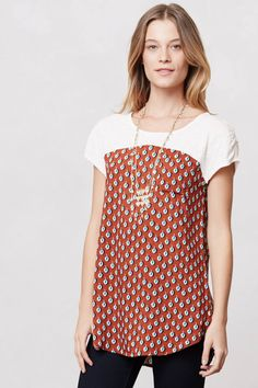 Shop the Pattern Drop Tee and more Anthropologie at Anthropologie today. Read customer reviews, discover product details and more.