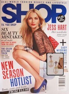 Shop til You Drop magazine featuring accessories from Jennifer Regan
