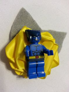 Wedding Geek Nerd Lego Boutonniere Batman Magneto by DivinityBraid