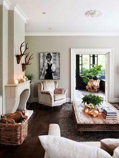 wohnzimmer // naturtöne / holz | home | pinterest | wohnzimmer und