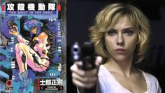 Scarlett Johansson to star in DreamWorks' Ghost in the Shell movie
