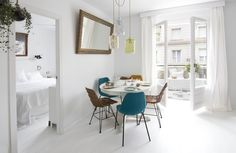 Barcelona Apartment by Espacio En Blanco design studio. Photographs by Nina Antoni (7)