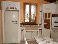 Cucina in muratura con banco snack - Camini Fai da Te - Camini ...