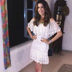 Amamos @camilacoutinho de dress#GIOVANADIAS #GDHANDMADEINBRAZIL ✨✨
