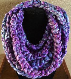 Women's Braided Infinity Scarf by TheFancyStitcher on Etsy