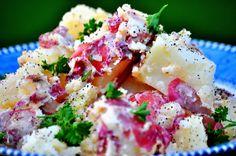 Gluten free and vegan yummy potato salad.
