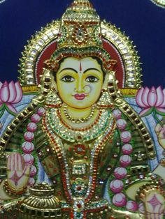 tanjore Painting of Godess.......