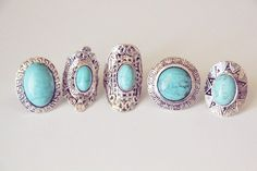 Turquoise rings!!!