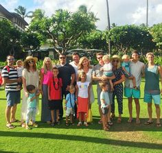 Donny and family in Hawaii. 2016