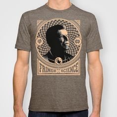 Walter Bishop - Fringe Science (RED) T-shirt  So cool. $22