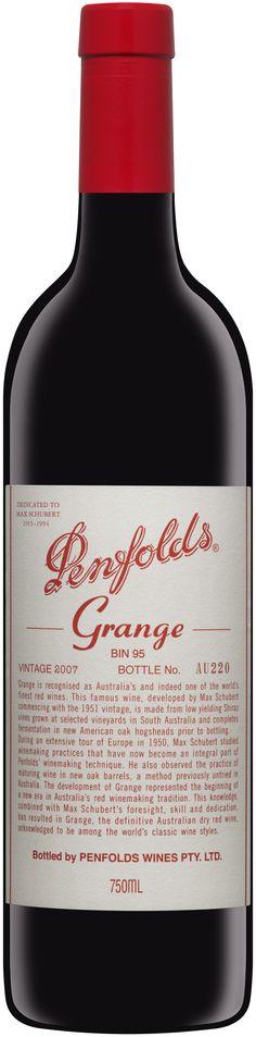 Penfolds Grange Bin 95, Australia