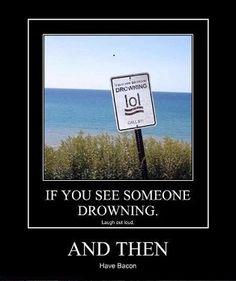 Drowning Advice...