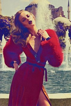 """Jump in Time"" : Ieva Laguna : Vogue Hellas October 2011 : Koray Birand"