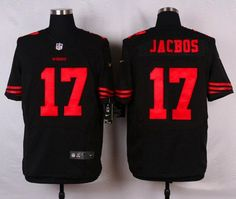 Men's San Francisco 49ers #11 Quinton Patton Black Alternate 2015 NFL Nike Elite…