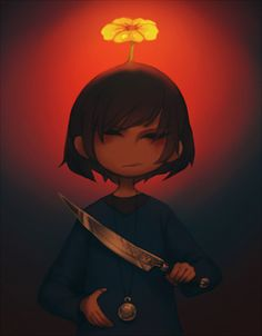 dinkythings:    Try as you might, you continue to be yourself.   I'm very art blocked so here is another Frisk