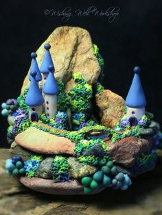 Polymer Clay Miniature Kingdom-Wishing Well Workshop