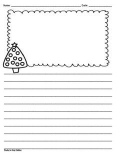 Snowflake writing paper