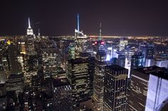 Manhattan By Night from TOTR by Joseph Sketches - Photo 132079419 - 500px