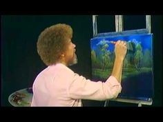 """""""The more you practice anything, the easier it gets,"""" Bob Ross #painting #BobRoss #wisdom"""