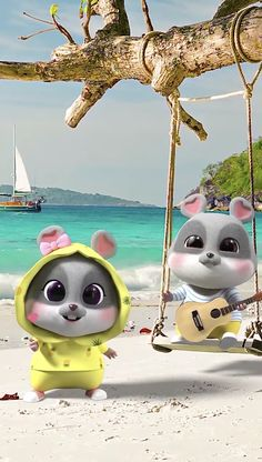Cute Bunny Cartoon, Cute Cartoon Images, Cute Couple Cartoon, Cute Kawaii Animals, Cute Cartoon Animals, Girl Cartoon, Cute Baby Animals, Cute Black Wallpaper, Cute Galaxy Wallpaper