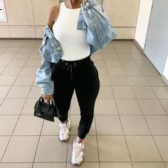 133 stylish new year outfits ideas to rock your parties – page 1 Cute Swag Outfits, Chill Outfits, Sporty Outfits, Dope Outfits, Trendy Outfits, Fashion Outfits, Fall Winter Outfits, Spring Outfits, Looks Halloween
