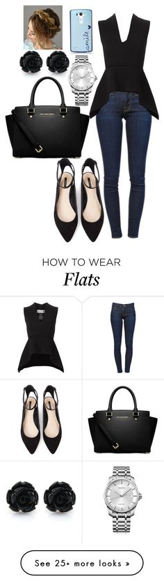"""Whatever"" by chap15906248 on Polyvore featuring Frame Denim, Scanlan Theodore, Forever 21, MICHAEL Michael Kors and Calvin Klein"