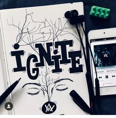 """One touch and i Ignite"" - Ignite, Alan Walker Anime Drawings Sketches, Art Drawings, Walker Join, Doodle Quotes, Walker Art, Drawing Quotes, Dark Photography, Electronic Music, Hand Lettering"