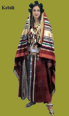 Traditional costume of Kebili, Tunisia