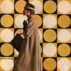 Coat by La Vigna in Bella Vista wool by Stroock 1956