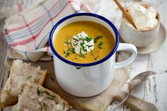 Curried kumara soup recipe, Viva – This cold snap has seen the soup pot back on the stove The latest favourite in our house is this curried kumara soup which is extra delicious with a dollop of yoghurt on the top – bite.co.nz
