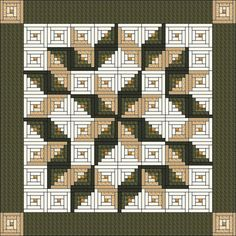 Log Cabin Quilt Pattern Log Cabin Carpenter Star King Size 105 X 105 Log Cabin Quilt Patterns With Applique Free Log Cabin Quilt Patterns Using Jelly Rolls Log Cabin Quilt Patterns Twin Size Patchwork Log Cabin, Patchwork Quilt, Log Cabin Quilt Pattern, Log Cabin Quilts, Star Quilt Patterns, Star Quilts, Pattern Blocks, Mini Quilts, Quilting Projects