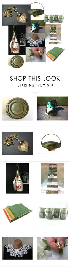 """""""Last Green of Summer"""" by inspiredbyten ❤ liked on Polyvore featuring John Lewis and vintage"""
