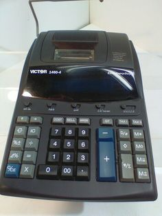 Victor Extra Heavy-Duty Printing Calculator Used and Tested Hobbies That Make Money, How To Make Money, Office Phone, Calculator, Landline Phone, Printing, Ebay